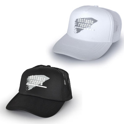 Truckers Cap - Black and White